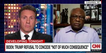 Rep. James Clyburn On Trump's Refusal To Concede: 'That's What Hitler Did In Germany'
