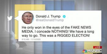 MSNBC Reports On Trump's Concession, Non-Consession On Twitter