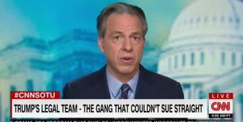 Tapper: Trump's Legal Team 'The Gang That Couldn't Sue Straight'