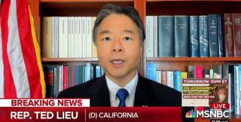 Rep. Ted Lieu Trolls Trump Over 'Thousands' MAGA March