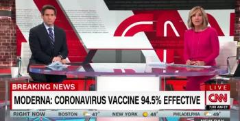 More Good News: Moderna Vaccine Data Finds Close To 95 Percent Effectiveness