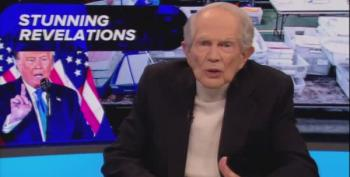 Pat Robertson Screams 'Venezuela Stole Election From Trump!'