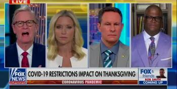 Charles Payne Says Real Family Separation Is COVID-Restricted Thanksgiving