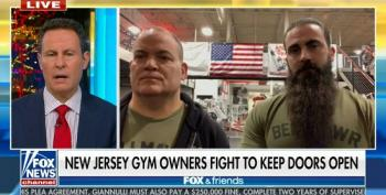 Fox And Friends Gives Airtime To NJ Gym Owner: 'Masks Don't Work When You're Exercising'