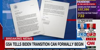 GSA Finally Certifies Transition To The Biden-Harris Administration