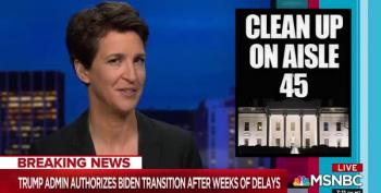 Maddow: To Kneecap Biden, Trump Ordered Destruction Of Spy Planes Used To Monitor Russia