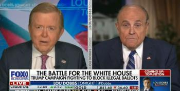 Rudy Giuliani Tells Lou Dobbs They're Just 'One Fair Decision' Away From Turning Things Around For Trump