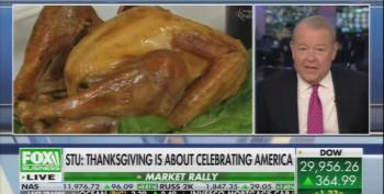 Stuart Varney Says Thanksgiving Is About 'Murrrica!