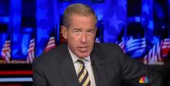 Brian Williams Wanted For Drive-By Shading Of Mike Pence's Arms Installation