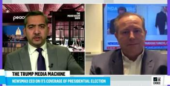 Mehdi Hasan To Newsmax CEO: 'Are You Embarrassed' About The 'Nonsense' On Your Network?