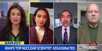 Assassination Of Iranian Scientist Likely An Effort To Kill Biden's Chance For Peace