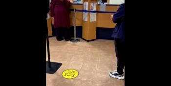 Maskless Lady To Bank Teller: 'I Am A Scientist! There Is No Corona!'