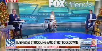 Fox And Friends Hosts Shocked To Learn That Masks Work Against COVID