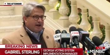 GA Republican: Trump 'Complicit' In Threats Against Election Officials