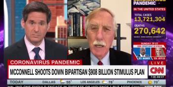 Angus King On Stimulus Relief Stalemate Under Mitch McConnell