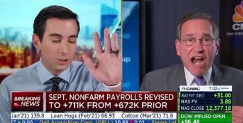 Covid Truther Rick Santelli Screams To Keep Restaurants Open