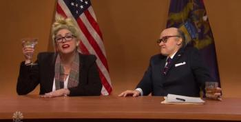 SNL Cold Open: Michigan Hearing With Rudy Giuliani And Drunk Lady