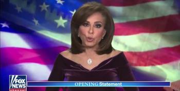 Jeanine Pirro Calls AG Bill Barr A 'Reptile' For Not Helping Trump Overthrow The Election