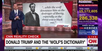 John Avlon Quotes Lincoln: 'We Need To Repudiate The Wolf's Dictionary'
