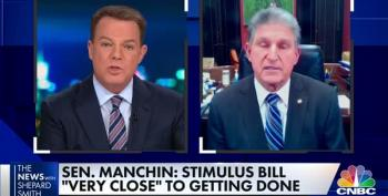 Shepard Smith Blasts Joe Manchin's Very Bad Stimulus Compromise Bill