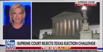 Fox News Forced To Report: 'Supreme Court Rejects Texas Election Challenge'