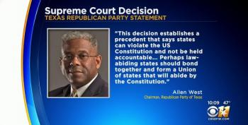 Texas GOP Chair Suggests Secession After Supreme Court Rejects Lawsuit