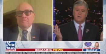 Rudy Giuliani Whines Like A Baby On Fox News  Over Supreme Court Decision