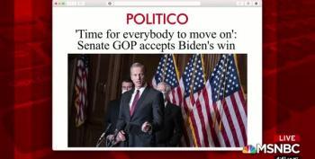 Republican Senators Finally Starting To Acknowledge Reality