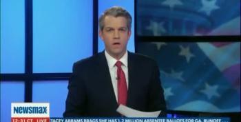 Newsmax Refers To Joe Biden As President-Elect