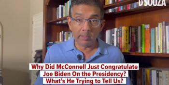 Here's Your Round Up Of Wingnuts Freaking Out Over McConnell's Congratulations To Biden And Harris