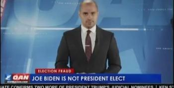 OAN Announces That Joe Biden Is Not President-Elect