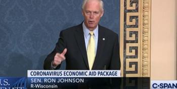 Ron Johnson Objects To COVID Relief Bill, Saying Stimulus Won't Stimulate The Economy