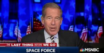 Brian Williams Shares A Few Thoughts About Pence's Space Force 'Guardians'