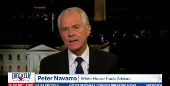 Peter Navarro Declares Joe Biden 'Illegitimate' On Newsmax TV