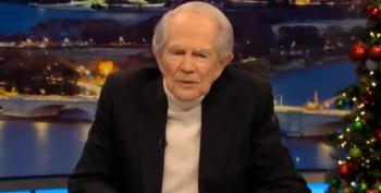 Even Pat Robertson Thinks It's Over For Donald Trump