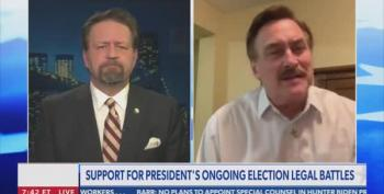 'Doctor' Seb Gorka Shuts Down My Pillow Guy On Voting Machines
