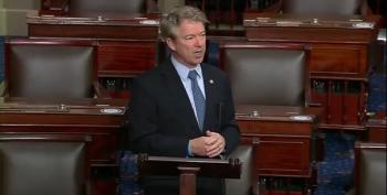 Rand Paul's Rant Against COVID Relief