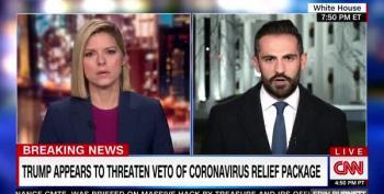 Trump Threatens To Veto COVID Relief Bill