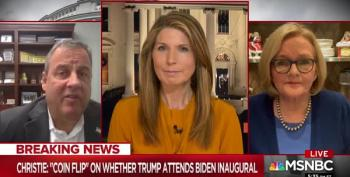 Nicolle Wallace Skins Chris Christie Alive Over Claims Of Standing Up To Trump