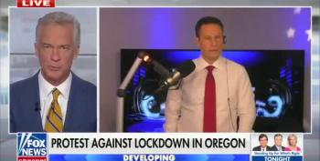 'Brain' Kilmeade Embraces Right-Wing Rioters In Oregon:  'They Love America'