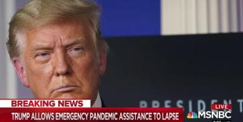 Trump Allows Emergency Pandemic Relief To Lapse