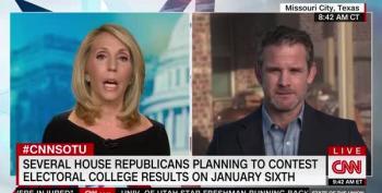 GOP Congressman Adam Kinzinger Rips Trump For His Election 'Scam'