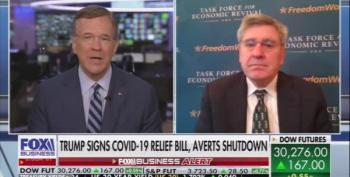 Trump's Economic Counsel Stephen Moore Attacks COVID Relief As 'Helicopter Money' For The Poor