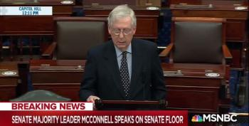 McConnell Blocks $2,000 Survival Checks For Americans Scraping To Get By