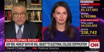 Sen. Josh Hawley Plans To Challenge Electoral College Certification In Congress