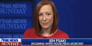 Jen Psaki: We Won't Allow Propaganda In Briefing Room