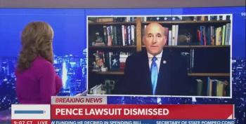 Rep. Louis Gohmert Runs To Newsmax To Incite Violence On Trump's Behalf