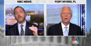 Chuck Todd Tells Sen. Ron Johnson: 'You're The Arsonist Here'
