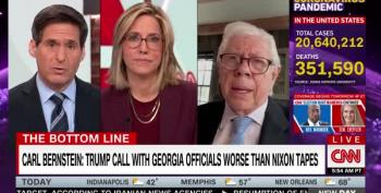Carl Bernstein Urges Mitch McConnell To Demand Trump's Resignation 'Immediately'