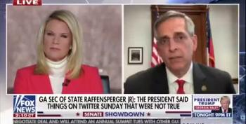 Fox News Host Berates Georgia Sec. Of State For Releasing Trump Audio